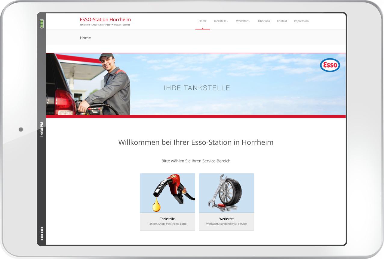 Esso-Horrheim.de